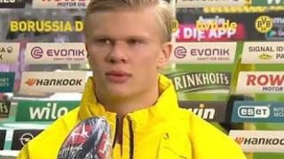 Erling Haaland wasn't made for interviews