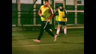 Mady - football training